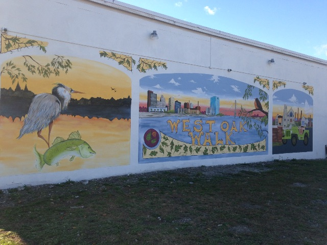 building mural in west oak area of west toledo